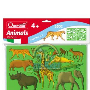 Quercetti Hayvanlar Çizim Tahtası